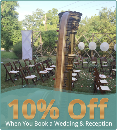 10% Off - When You Book a Wedding & Reception