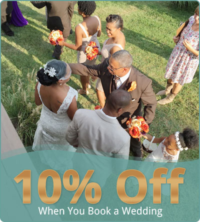 10% Off - When You Book a Wedding